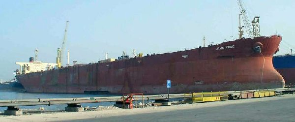 Knock Nevis Seawise Giant Jahre Viking  The Worlds Biggest Ship