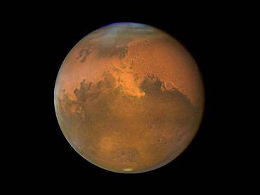 В истории Марса было не менее 40 ледниковых периодов