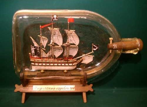 """Кораблики в бутылке (6 фото) """" Информационный ресурс"""