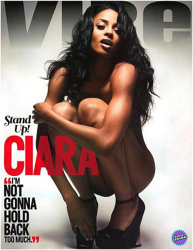 Фотографии Сиары (Ciara) для журнала Vibe Magazine октябрь'08