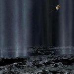 Фонтаны на луне Сатурна