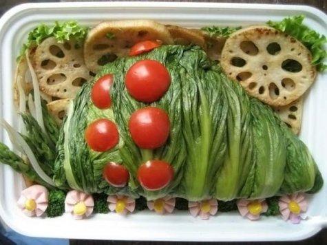 креативные салаты фото