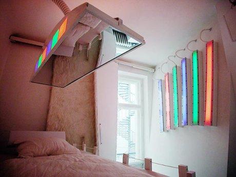 Нестандартный дизайн комнаты