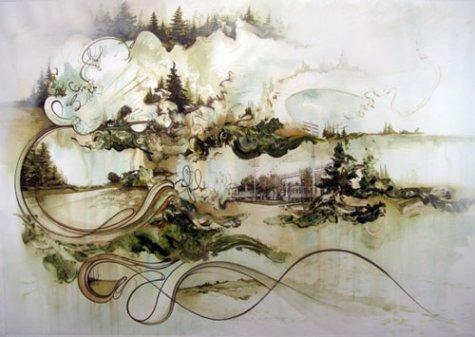 рельефный рисунок: