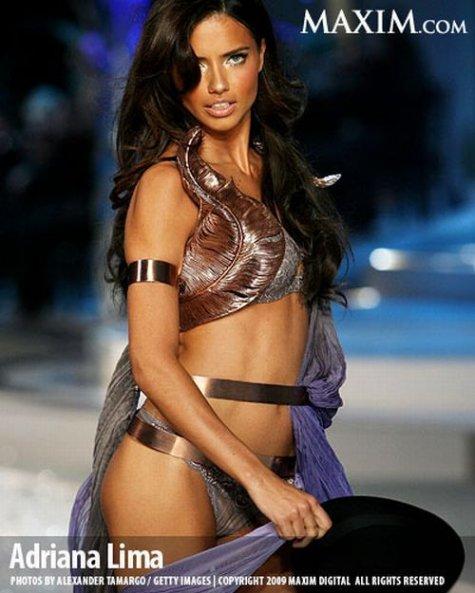 ТОП-100 самых красивых и сексуальных девушек 2009-ого года по версии MAXIM.