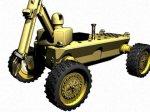 Робот, функционирующий на биомассе