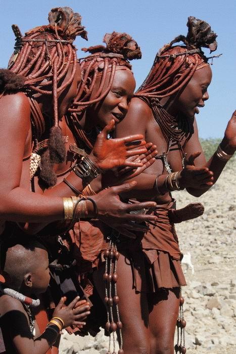 Порно обряд с племенами