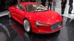 Спортивный электромобиль E-tron от Audi