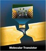 Создан транзистор, состоящий  из одной молекулы