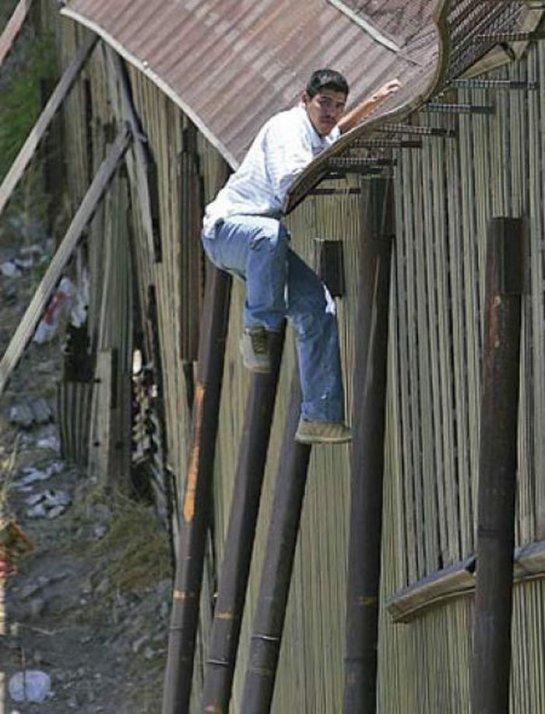 Нелегалы пересекают границу США