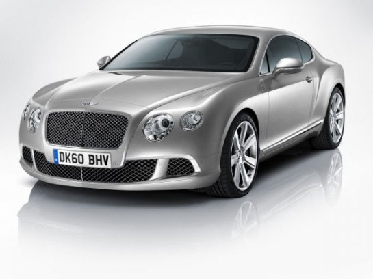 Новинка Bentley Continental GT 2011