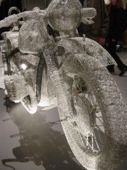 3D скульптуры из проволоки