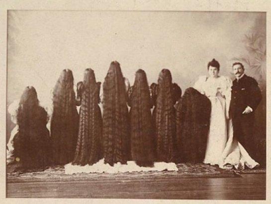 Длиноволосые сестры Сазерленд