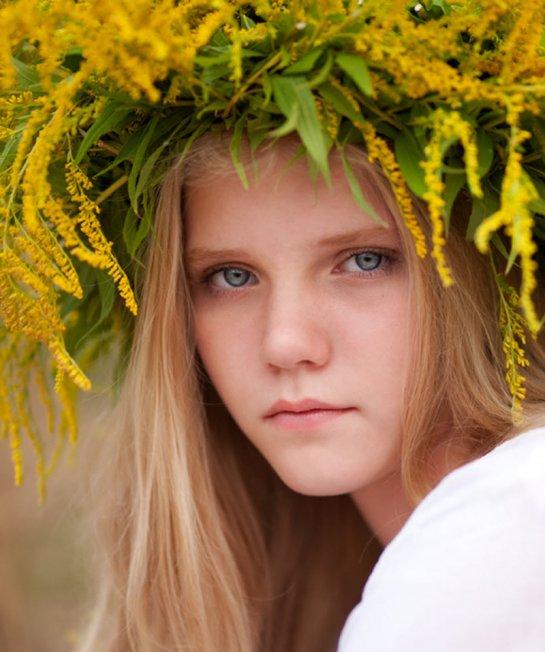 лицо русской девушки фото