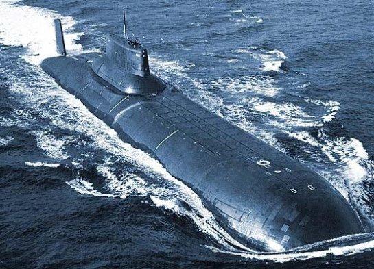 самая большая атомная подводная лодка в советском союзе