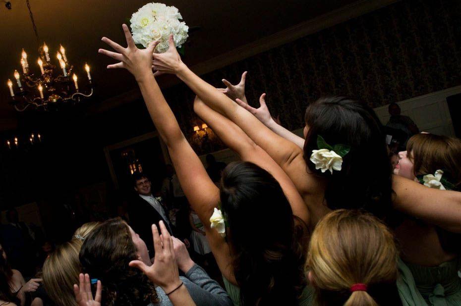 фото невесты подловили