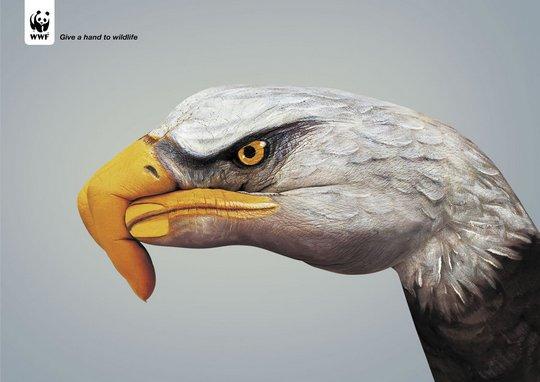 Боди-арт в рекламных компаниях