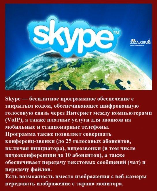 Самые интересные факты о Skype