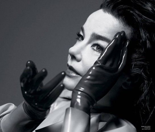 Бьорк (Bjork) на обложке журнала The NY Times Style Magazine