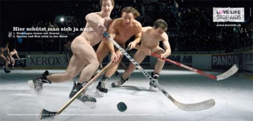 голые хоккеистки фото
